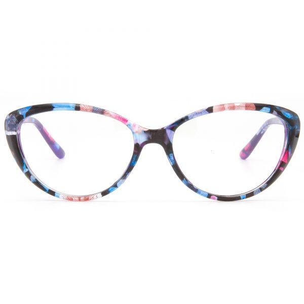 2919Flower рамка за очила за четене, за далеч, за компютър със защита от синя светлина, очила за шофиране или слънчеви очила с диоптър