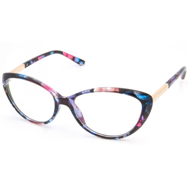 2919Flower рамка за очила за четене, за далеч, за компютър със защита от синя светлина, очила за шофиране или слънчеви очила с дипотър