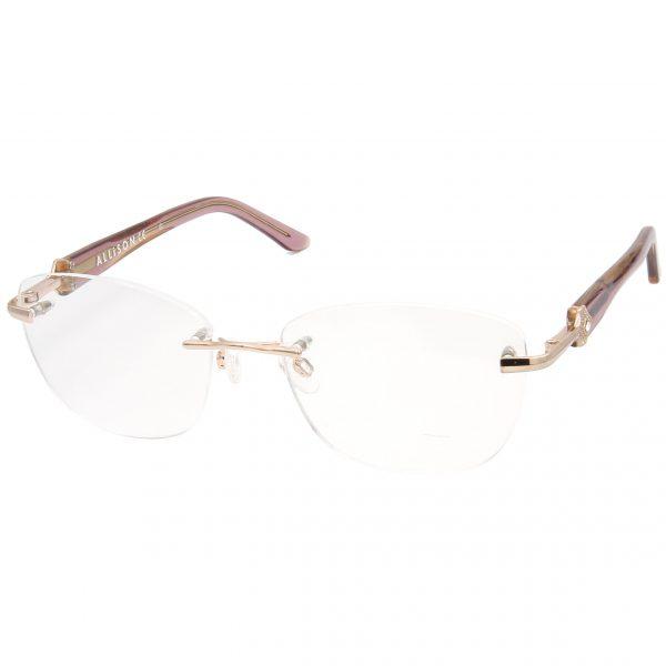 Рамка за очила Alison-AL05V03. Опции стъкла за антирефлексни очила, защитни очила за компютър с филтър за синя светлина, фотосоларни очила, очила за дневно и нощно шофиране