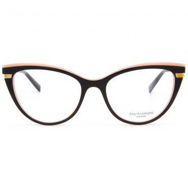 AnaHickmann-6368-A01 рамка за очила за четене, за далеч, за компютър със защита от синя светлина, очила за шофиране или слънчеви очила с диоптър