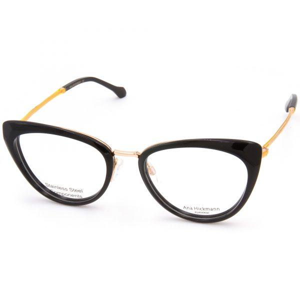 Рамка за очила AnaHickmann-6379. Опции стъкла за антирефлексни очила, защитни очила за компютър с филтър за синя светлина, фотосоларни очила, очила за дневно и нощно шофиране