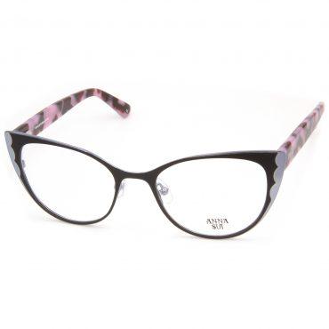 Рамка за очила AnnaSui-AS244A. Опции стъкла за антирефлексни очила, защитни очила за компютър с филтър за синя светлина, фотосоларни очила, очила за дневно и нощно шофиране