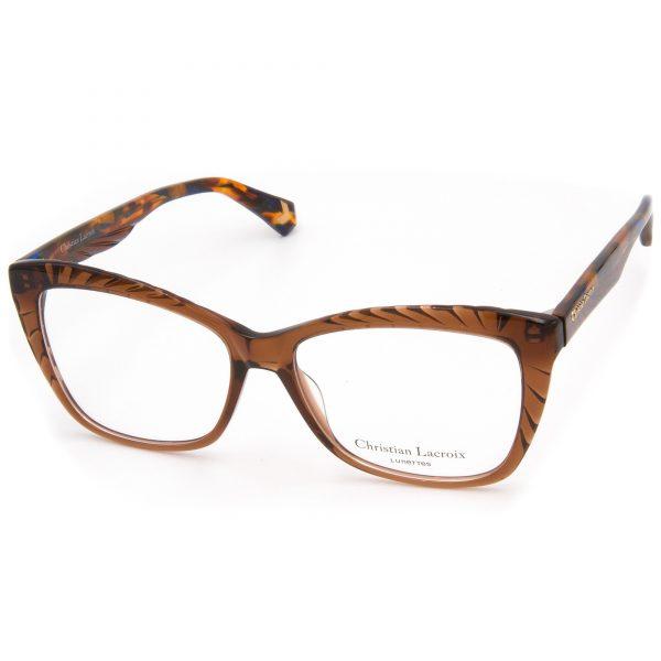 Рамка за очила ChristianLacroix-CL1083. Опции стъкла за антирефлексни очила, защитни очила за компютър с филтър за синя светлина, фотосоларни очила, очила за дневно и нощно шофиране