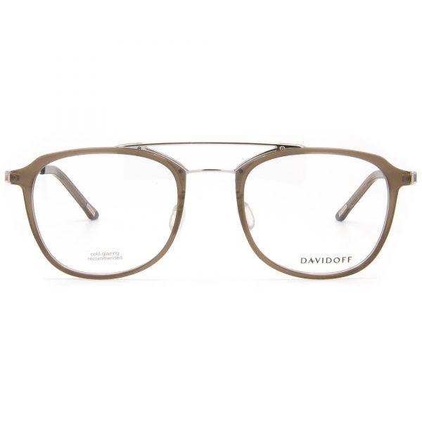Рамка за очила Davidoff-92033. Опции стъкла за антирефлексни очила, защитни очила за компютър с филтър за синя светлина, фотосоларни очила, очила за дневно и нощно шофиране