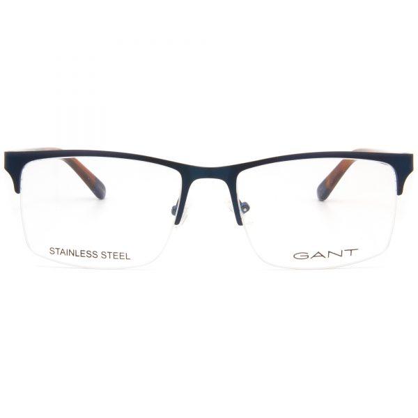 Рамка за очила Gant-GA3169. Опции стъкла за антирефлексни очила, защитни очила за компютър с филтър за синя светлина, фотосоларни очила, очила за дневно и нощно шофиране