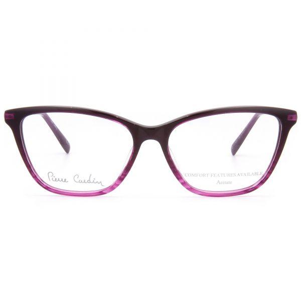 Рамка за очила PierreCardin-8847-2M2. Опции стъкла за антирефлексни очила, защитни очила за компютър с филтър за синя светлина, фотосоларни очила, очила за дневно и нощно шофиране
