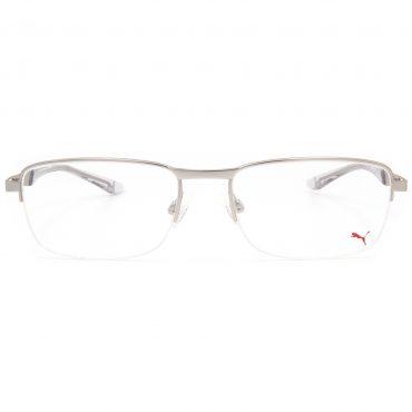 Рамка за очила Puma-PU00940 корда. Опции стъкла за антирефлексни очила, защитни очила за компютър с филтър за синя светлина, фотосоларни очила, очила за дневно и нощно шофиране