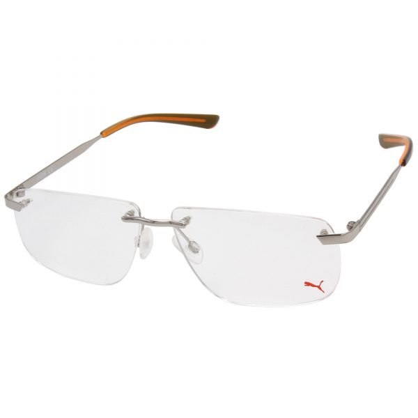 Рамка за очила Puma-PU02110. Опции стъкла за антирефлексни очила, защитни очила за компютър с филтър за синя светлина, фотосоларни очила, очила за дневно и нощно шофиране