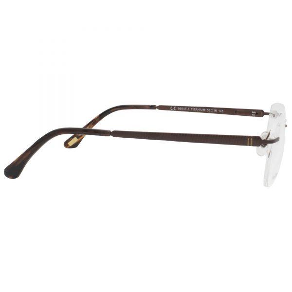 Рамка за очила RVD0664T. Опции стъкла за антирефлексни очила, защитни очила за компютър с филтър за синя светлина, фотосоларни очила, очила за дневно и нощно шофиране