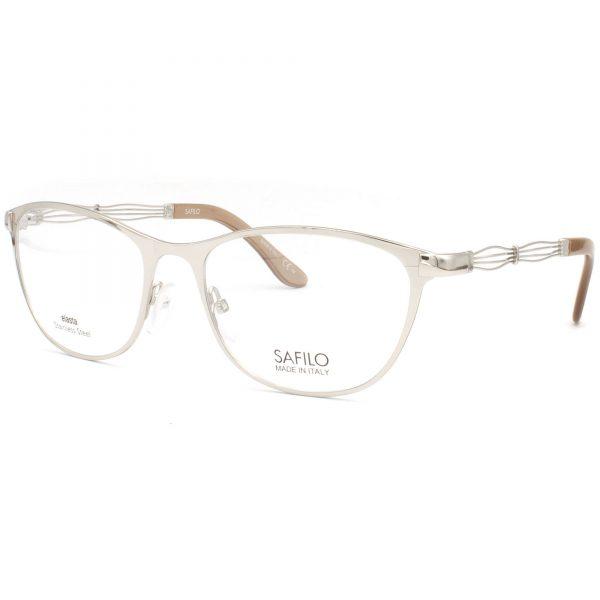 Рамка за очила Safilo SA6027 3YG. Опции стъкла за антирефлексни очила, защитни очила за компютър с филтър за синя светлина, фотосоларни очила, очила за дневно и нощно шофиране