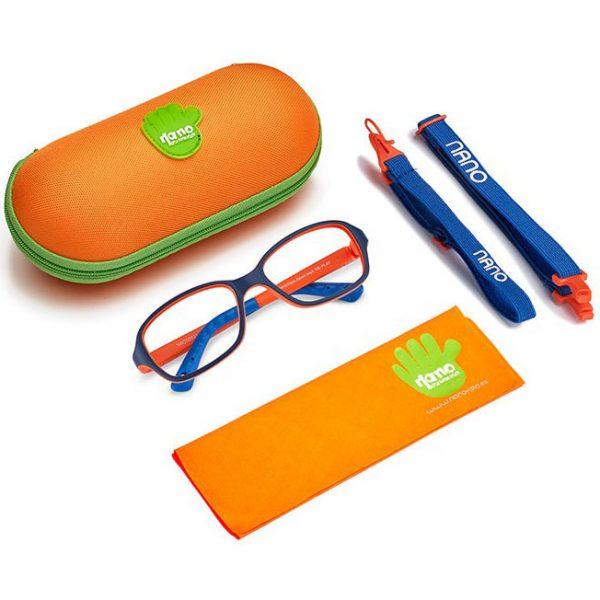 Нановиста - нечупливи гъвкави детски рамки за очила. Опция за поставяне на нечупливи стъкла за компютър - със или без диоптър