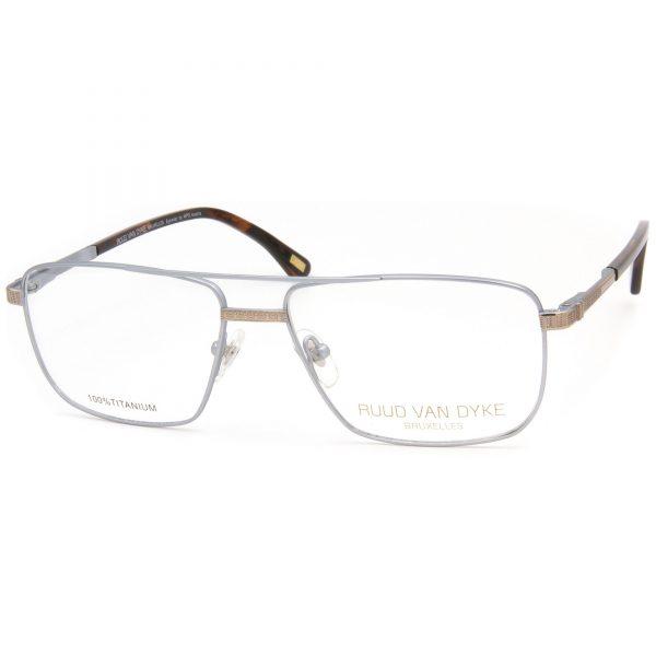 Рамка за очила RuudVanDyke-0668T-6. Опции стъкла за антирефлексни очила, защитни очила за компютър с филтър за синя светлина, фотосоларни очила, очила за дневно и нощно шофиране