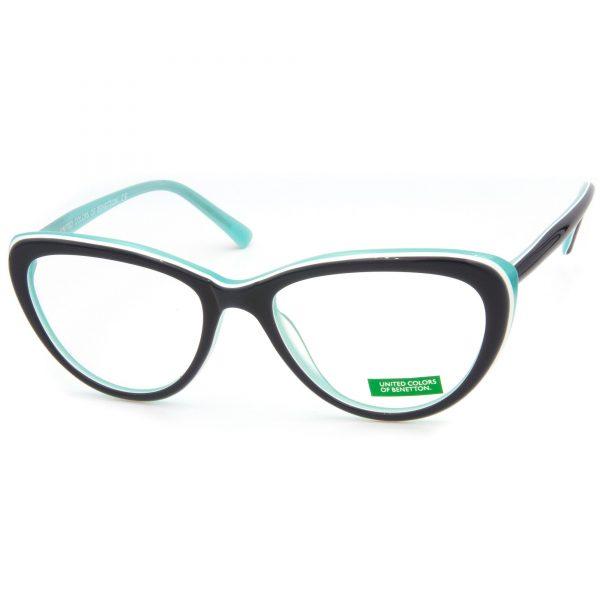 Benetton BN334 рамка за очила за четене, за далече, с антирефлексни стъкла, стъкла за очила за компютър, за очила за шофиране