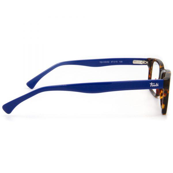 Trudi TD115V02 детска рамка за очила с диоптър, очила за компютър