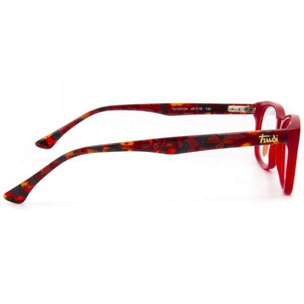 Trudi TD124V04 детска рамка за очила с диоптър, очила за компютър