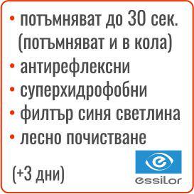 бързо реагиращи Essilor XTRActive